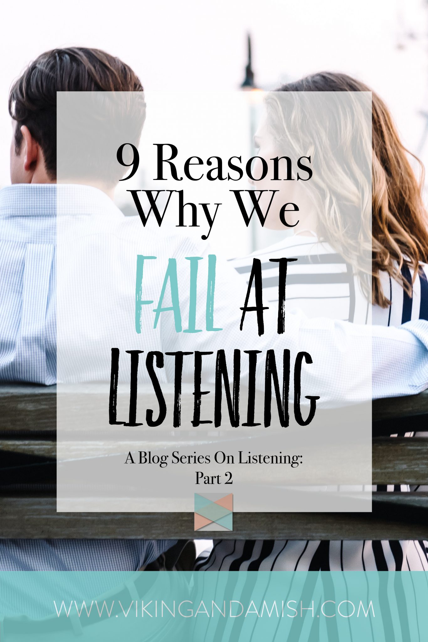 Listening can be challenging. This is due to human nature, but also because of things we have the power to change. Read here why you fail to listen, and how you can become a better listener.