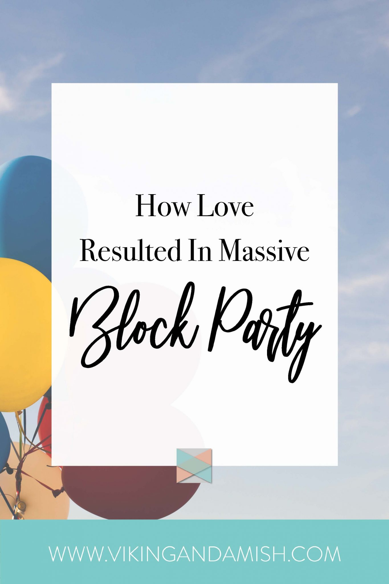 love resulted massive block party