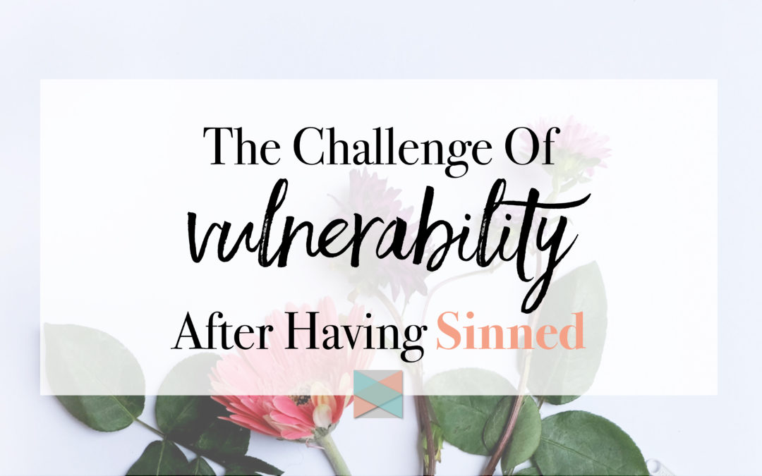 The Challenge Of Vulnerability After Having Sinned